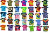 Tie Dye T-Shirts Multi-Color Adult XL 100% Cotton Colortone