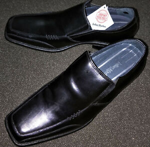 JULIUS MARLOW MENS SHOES 'MAJESTIC' SZ 8 & WITH TAGS - BLACK - NO BOX