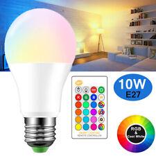 LED E27 RGB Glühbirne Farbwechsel Glühlampe Birne Licht mit IR Fernbedienung 10W