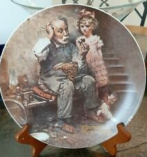 The Cobbler 1978 Porcelain Plate by Norman Rockwell Special Edition #18,973T