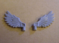 Lego 2 alas gris (Wings accesorios Legends of Chima figuras muelles) nuevo