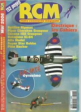 RCM N°301 PLAN : GYRONIMO / SPITFIRE RIPMAX / PIPER CHEROKEE GRAUPNER / CESSNA