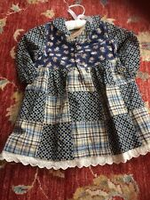 Pampolina (German Designer) Girls Dress Size 92 Cm BNWT