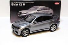 1:18 Kyosho bmw x6m (e71) 2009 Grey New en Premium-modelcars