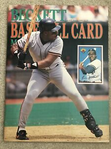 Beckett Baseball Card #53 Kevin Mitchell, Griffey Jr.