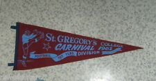 #T38.  1962 ST GREGORY'S COLLEGE  RUGBY LEAGUE PENNANT