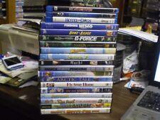 (19) Children's Animal Blu-Ray/Dvd Lot: Disney Finding Nemo G-Force Narnia Shrek