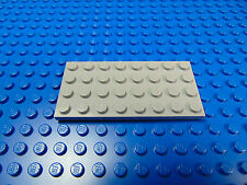 LEGO-LIGHT GREY BASE PLATE 4 X 8  FROM LEGO SETS  BRAND NEW