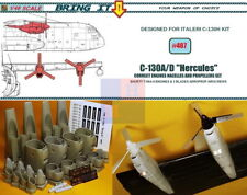 """1/48. C-130A """"Hercules"""" convertions engines resin set, by """"Bring it!""""/""""MLH"""" #487"""