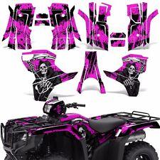 Graphic Kit Honda Foreman 500 ATV Quad Decals Stickers Wrap 2015 2016 REAP PINK