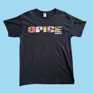 Gildan Spice Girls Spice World 2019 Band Tour T-Shirt In Black Large