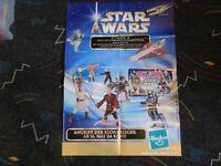 Star Wars Episode II Angriff der Klonkrieger Filmposter Poster Plakat Hasbro