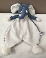 Jellycat Cordy Roy Elephant Baby Soother Blue Cream Comforter Doudou Soft Toy