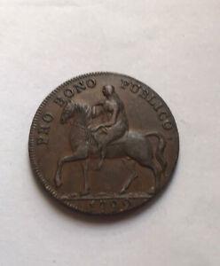 Gb Half Penny Token 1792