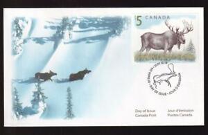 Canada FDC 2003 Moose $5 Wildlife definitive sc#1693