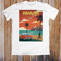 Havana Cuba Poster Unisex T Shirt