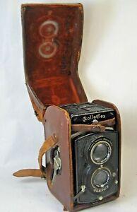 Vintage Rolleiflex Compur Box Camera w/Case