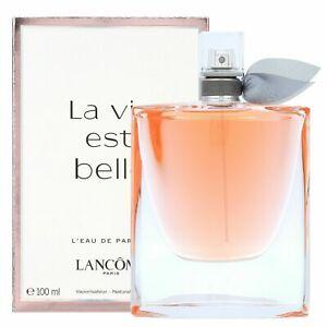 La Vie Est Belle Eau de Parfum Perfume Spray for WOMEN 3.4 oz 100 ml NEW IN BOX