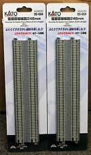 LOT of 2 - N Scale KATO UNITRACK 20-004 Straight Track  248mm 2 Pieces per Pack