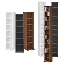 [en.casa] Bücherregal CD Regal Standregal Regal Büro Aufbewahrung 6 / 12 Fächer