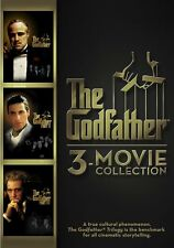 THE GODFATHER DVD - 3-MOVIE COLLECTION [3 DISCS] - NEW UNOPENED - AL PACINO