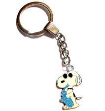 """Cool Dude"" Snoopy Peanuts Enamel Charm Pendant Key-ring - Fast UK Posting"