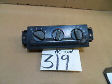 98 99 00 01 Blazer ( 16233939-A ) AC and Heater Control Used Stock #319-AC
