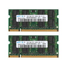 For Samsung 4GB 2x 2GB PC2-6400 DDR2-800MHz PC Laptop Memory SODIMM Notebook Ram