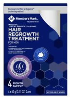 Member's Mark Minoxidil 5 % Foam, Men Hair Regrowth Treatment 4 Months Supply