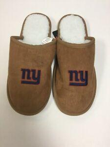 New York Giants Men's Team Color Moccasin Slide Slippers