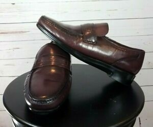 Freeman Free Flex Brown Tassel Loafers Size 12 W RAYMOND