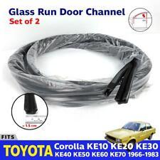 Fits Toyota Corolla KE10 KE20 KE30 KE70 Window Glass Door Run Channel Felt x2
