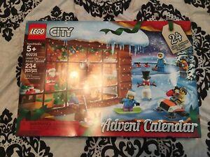 Unopened New LEGO City: Advent Calendar (60235) santa