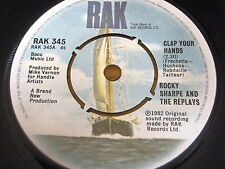Rocky Sharpe & The repeticiones-Clap sus manos de vinilo de 7""