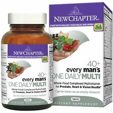 New Chapter 40+ Every Man's One Daily Multi 48/72/96 Tablets