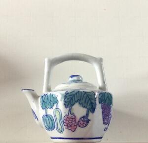 Little Meadow Traditional Teapot Tiny Teapot Christmas Birthday Gift