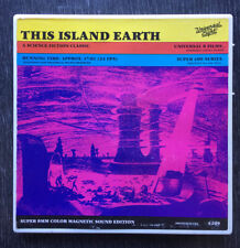 Super 8 Sci-Fi Film - This Island Earth - Color Sound 400' Reel - flying saucer
