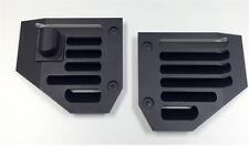 Hummer H2 & SUT Billet Aluminum Black Powder Coated Side Air Vent Set - Pair