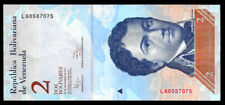 World Paper Money - Venezuela 2 Bolivares 2012 Prefix L @ Unc