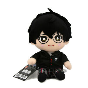 """Persona 5 12"""" Plush - SITTING PROTAGONIST New GEE 53515 (Official Licensed)"""