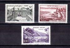 FRANCE 1957 30,85 & 100F views MLVH