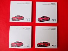 AUDI TT ~ RS8 ~VORSPRUNG DURCH TECHNIK~AUDI U.K PROMOTIONAL POST-IT NOTES *RARE*