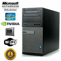 Core i7 DELL Gaming PC Desktop - NVIDIA RTX 2060, i7, SSD, Windows 10, 16GB RAM