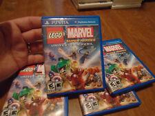 LEGO Marvel Super Heroes Universe in Peril PS VITA Sony PlayStation Vita PSVITA