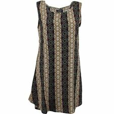SKATER DRESS ABSTRACT PRINT TUNIC BEACH HOLIDAY FESTIVAL One Size