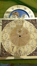 Vintage Hermle Black Forest Clocks ? Grandfather Clock Face Moon Brass