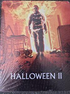 Halloween II (Blu-ray, 2018) Scream Factory Ltd Edition STEELBOOK. NEW. Region A