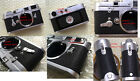 Leica M3 replacement leatherette cover pre-cut self-adhesive!