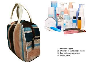 Waterproof Travel Hanging Toiletry Bag / Wash Bag / Makeup Bag / Gym Bag