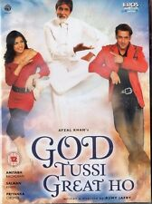 GOD TUSSI GREAT HO -  EROS BOLLYWOOD DVD - Amitabh Bachchan, Salman Khan.
